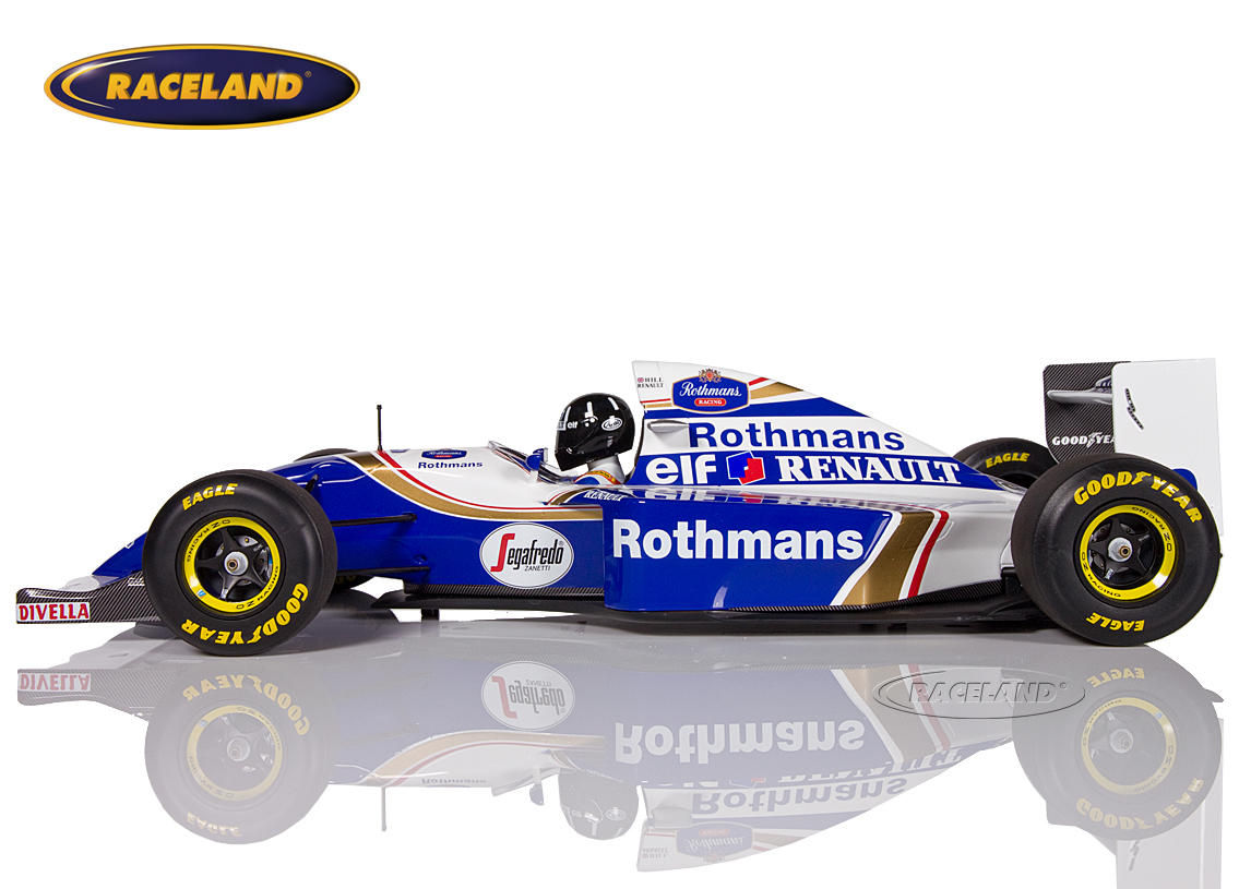 Williams-Renault FW16 F1 1994 Damon Hill Bild 3