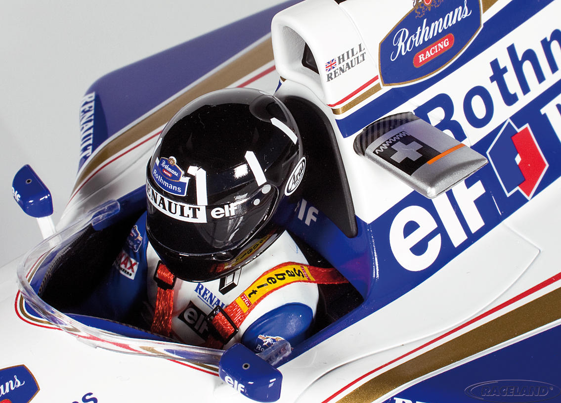 Williams-Renault FW16 F1 1994 Damon Hill Bild 4