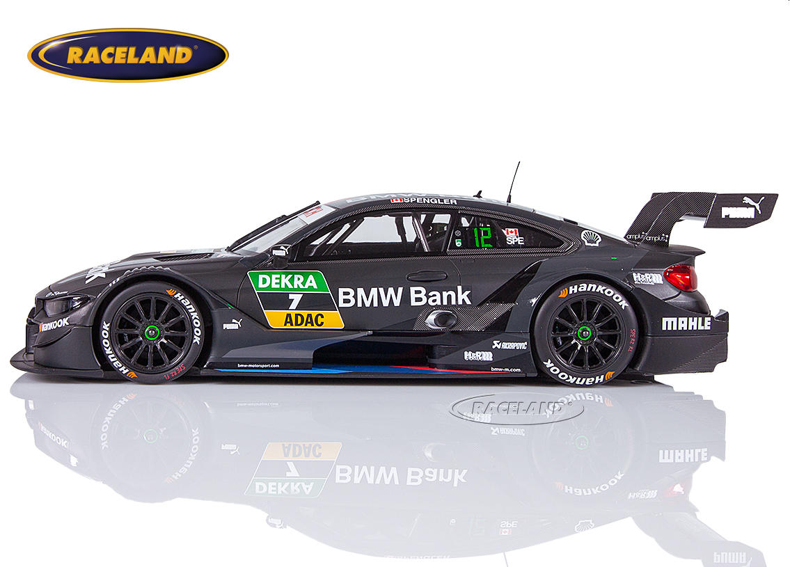 BMW M4 Team RBM BMW Bank DTM 2018 Bruno Spengler Bild 3