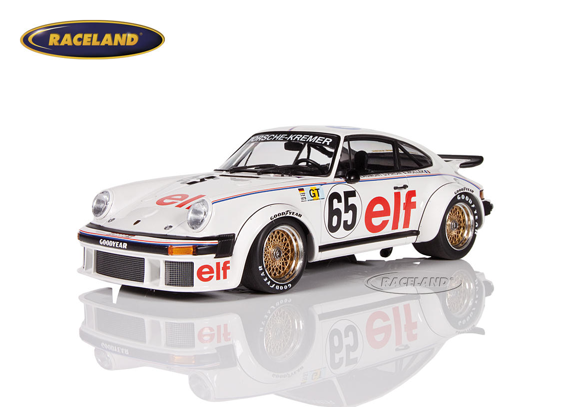 Porsche 934 Kremer Racing elf 19° 24H Le Mans 1976 Wollek/Pironi/Beaumont