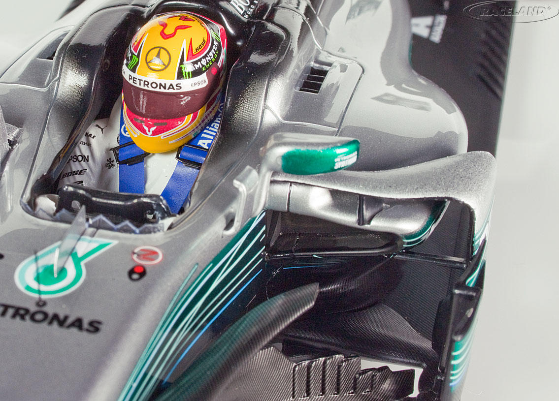 Mercedes-Benz W08 EQ Power+ F1 Sieger GP China 2017 Lewis Hamilton Bild 4