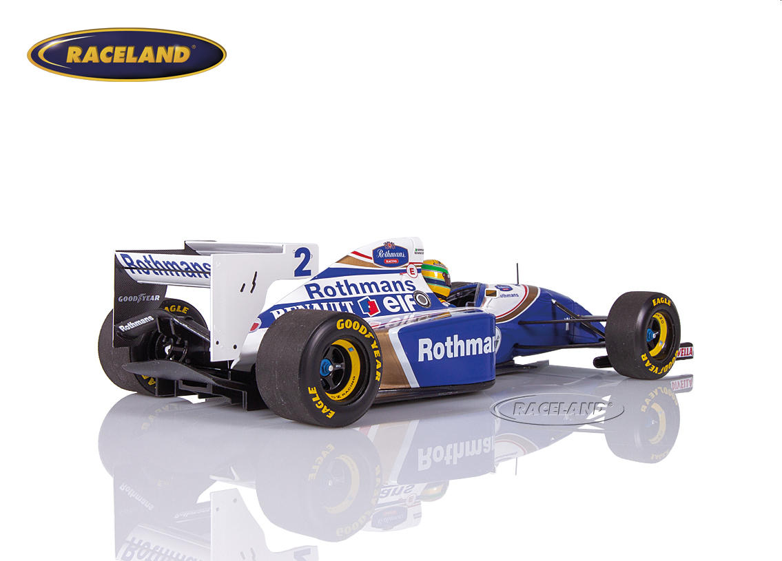 Williams-Renault FW16 F1 Team Rothmans Pazifik GP 1994 Ayrton Senna Bild 2