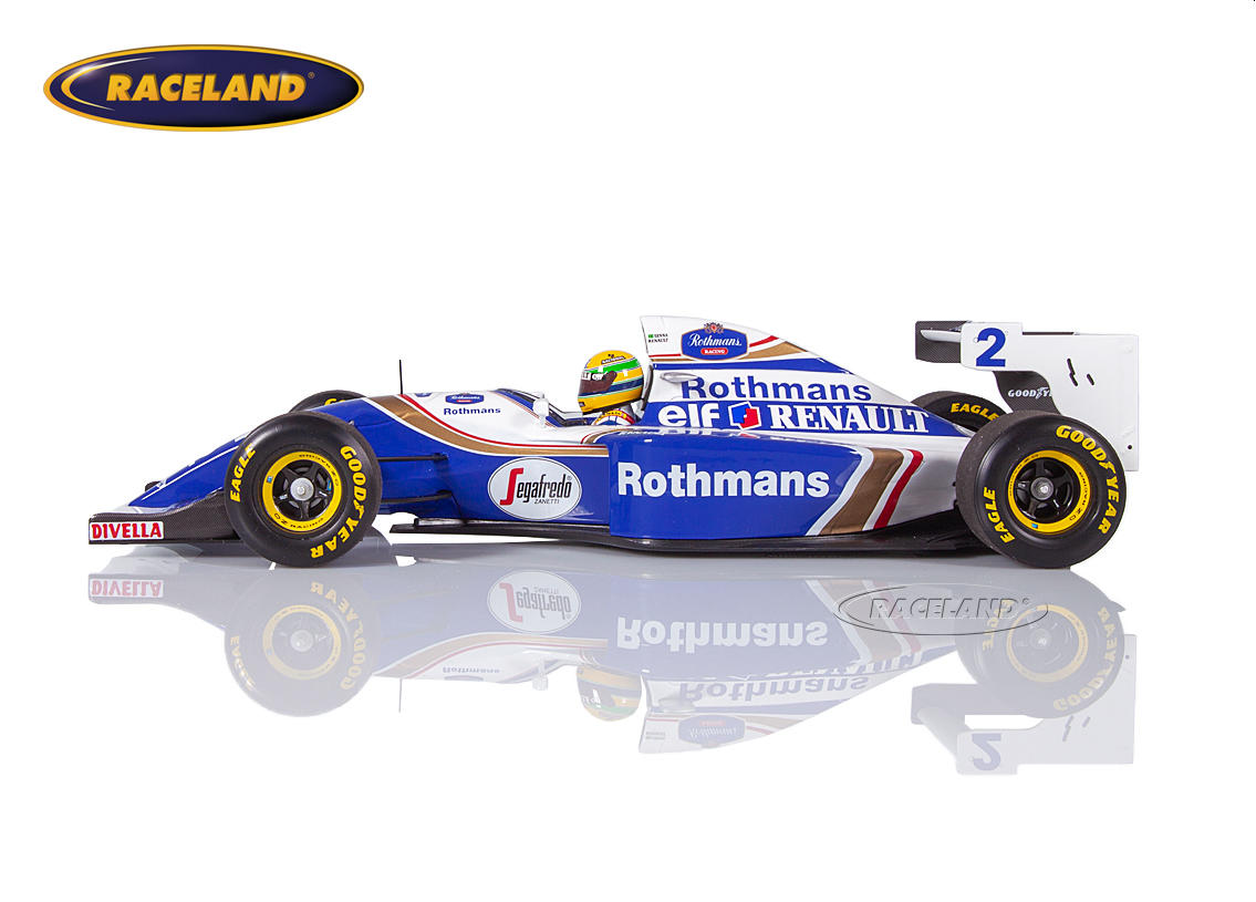 Williams-Renault FW16 F1 Team Rothmans Pazifik GP 1994 Ayrton Senna Bild 3