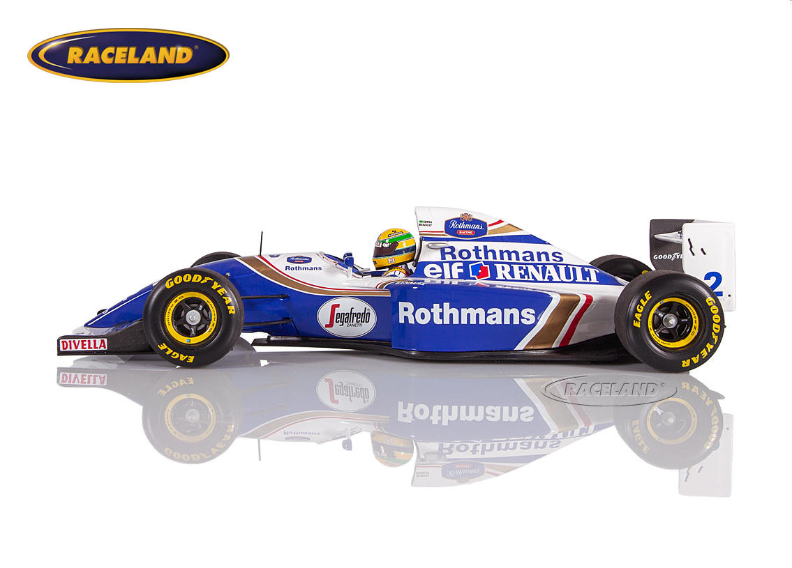 Williams-Renault FW16 F1 Team Rothmans GP San Marino Imola 1994 Ayrton Senna Bild 3