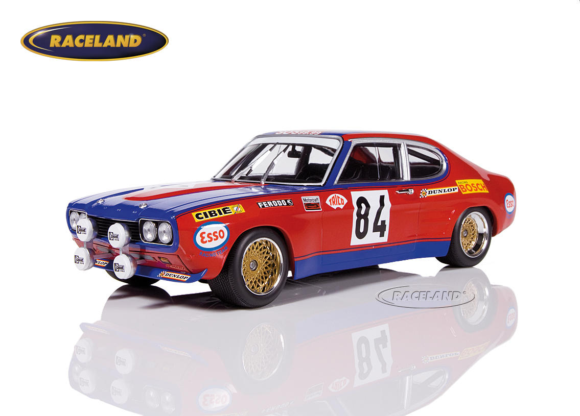 Ford Capri RS2600 Shark Team 24H Le Mans 1972 Rouget/Geurie/Grandet