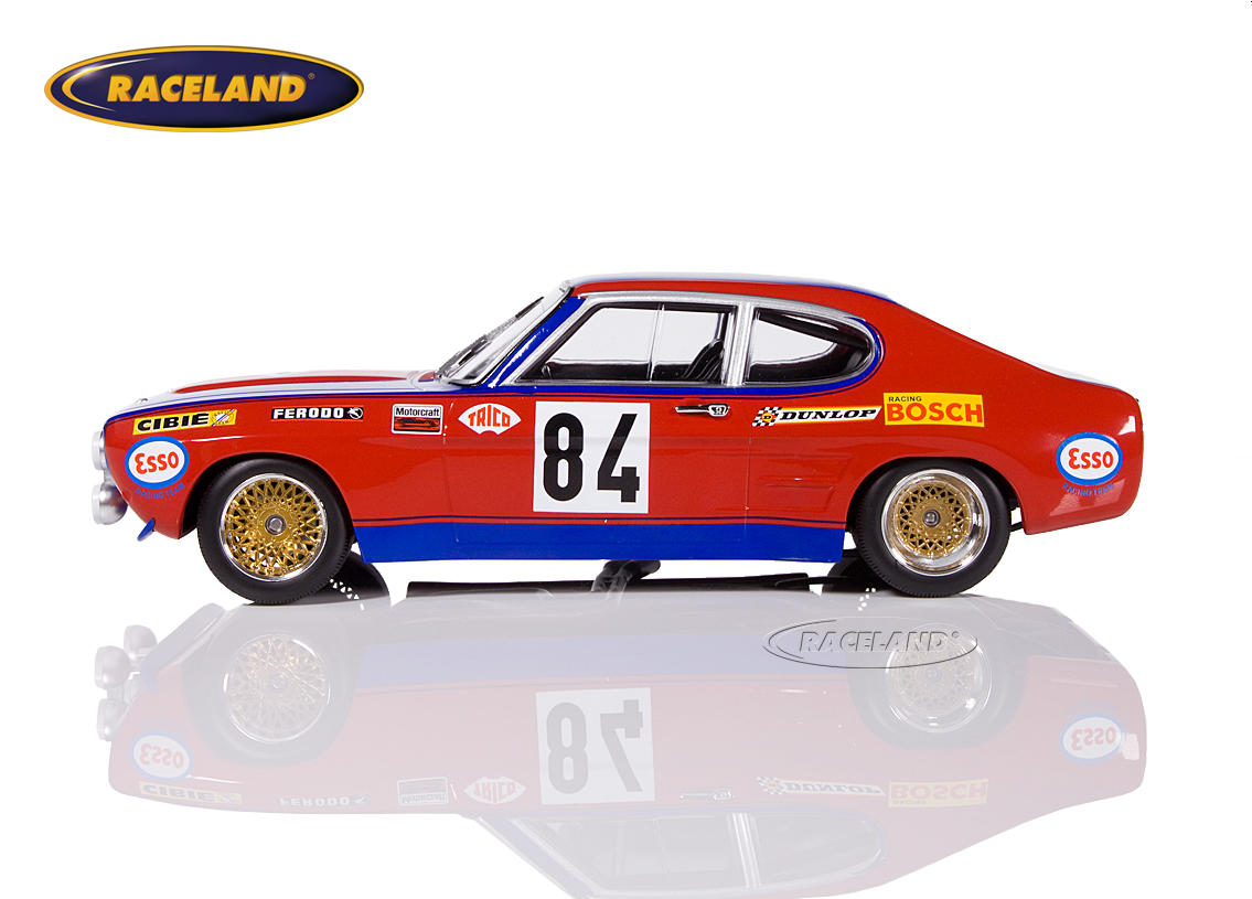Ford Capri RS2600 Shark Team 24H Le Mans 1972 Rouget/Geurie/Grandet Bild 3