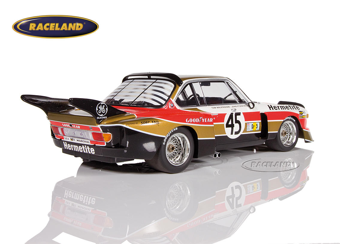 BMW 3.5 CSL Hermetite Products 24H Le Mans 1976 Walkinshaw/Fitzpatrick Bild 2