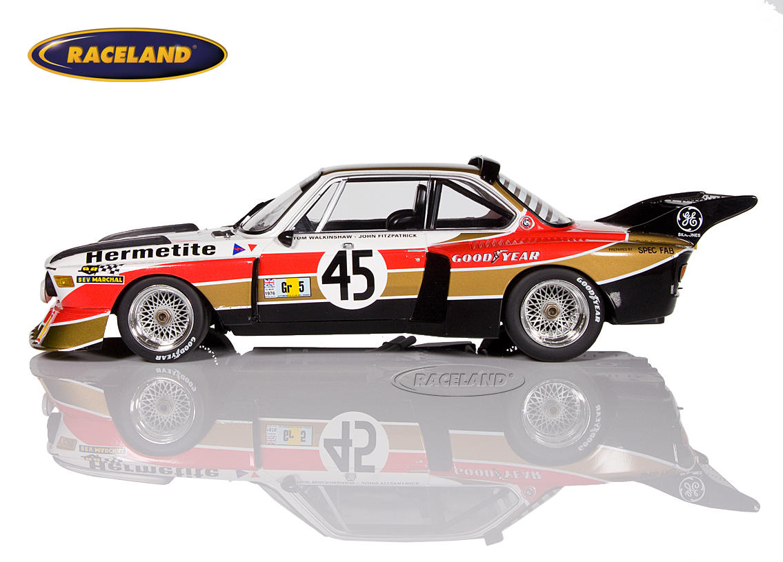 BMW 3.5 CSL Hermetite Products 24H Le Mans 1976 Walkinshaw/Fitzpatrick Bild 3