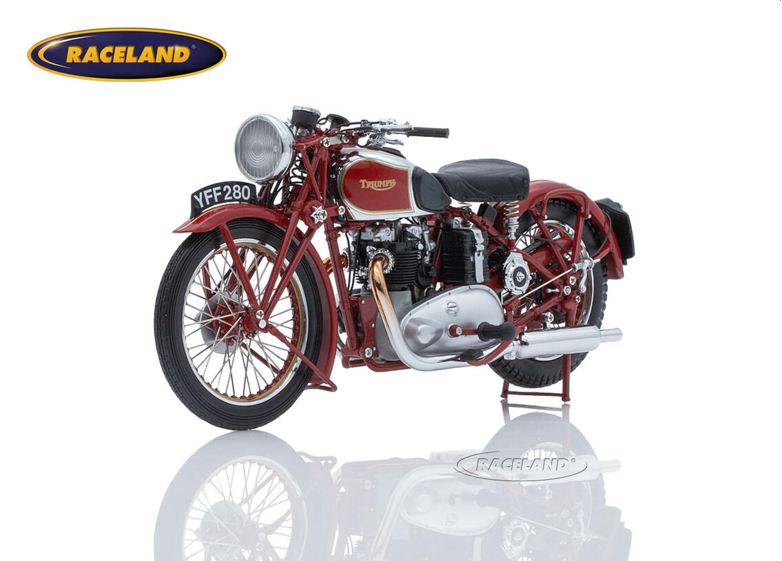 Triumph Speed Twin 1939 dunkelrot