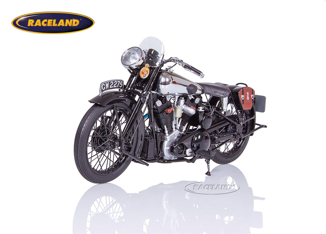 Brough Superior SS 100 T.E. Lawrence 1932 schwarz