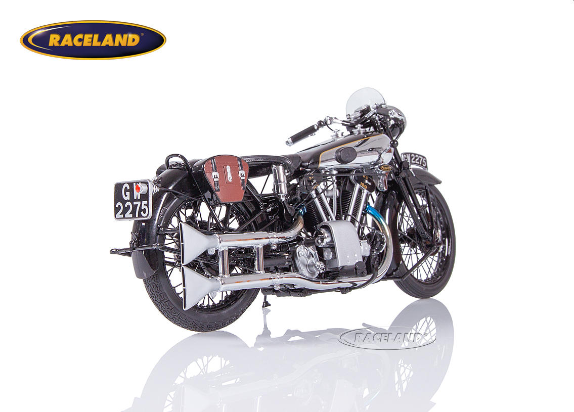 Brough Superior SS 100 T.E. Lawrence 1932 schwarz Bild 2
