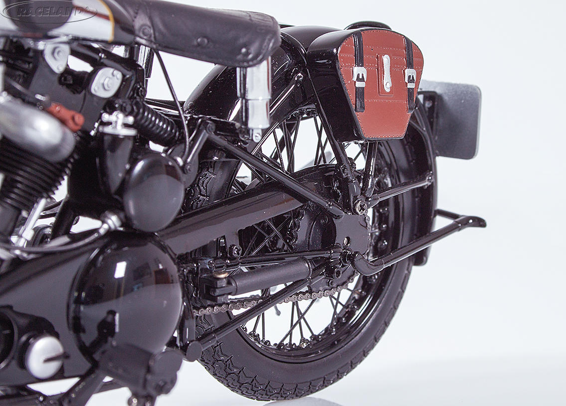 Brough Superior SS 100 T.E. Lawrence 1932 schwarz Bild 4