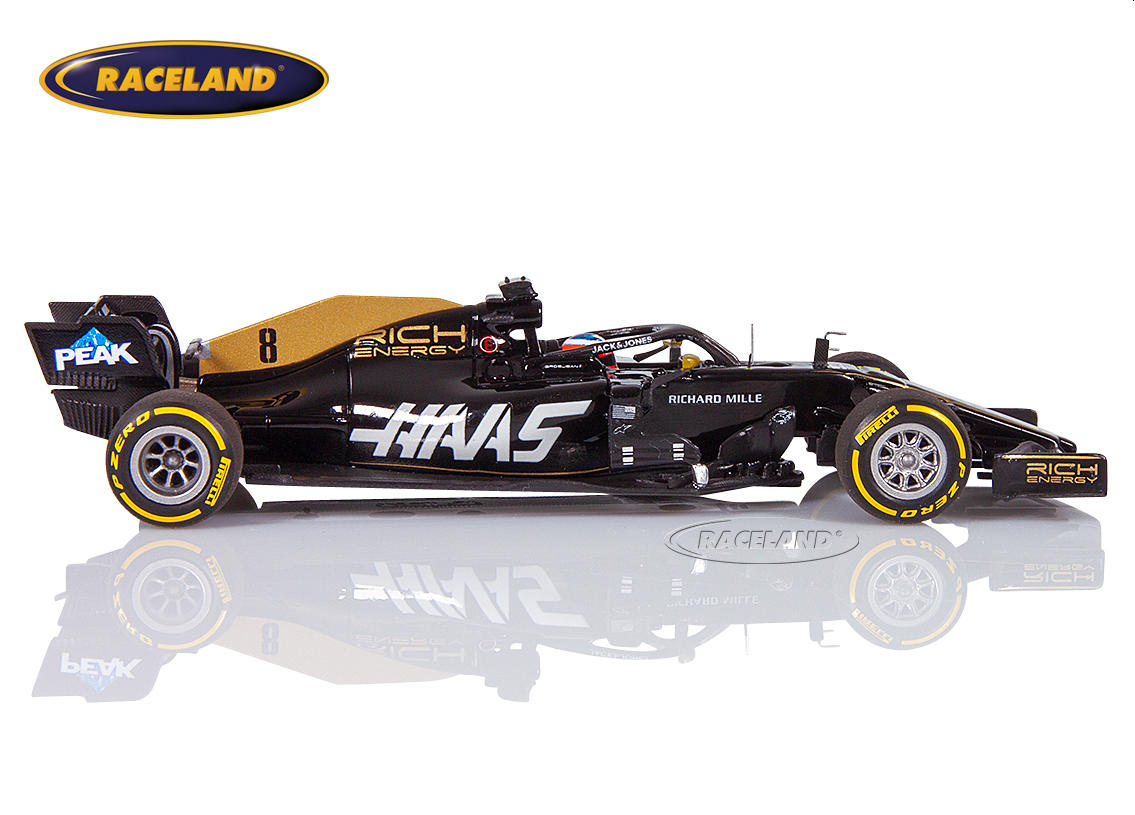 Haas VF-19 Ferrari Rich Energy F1 2019 Romain Grosjean Bild 3