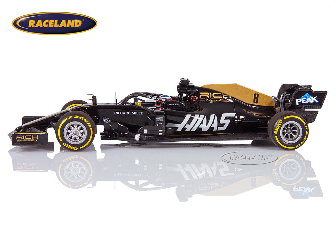 Haas VF-19 Ferrari Rich Energy F1 2019 Romain Grosjean Bild 4