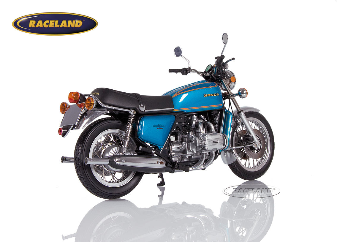Honda Goldwing GL 1000 K0 1975 blau metallic Bild 2