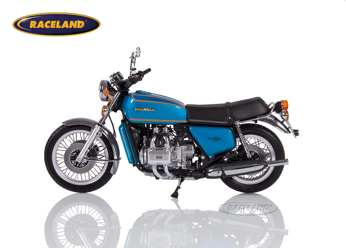 Honda Goldwing GL 1000 K0 1975 blau metallic Bild 3