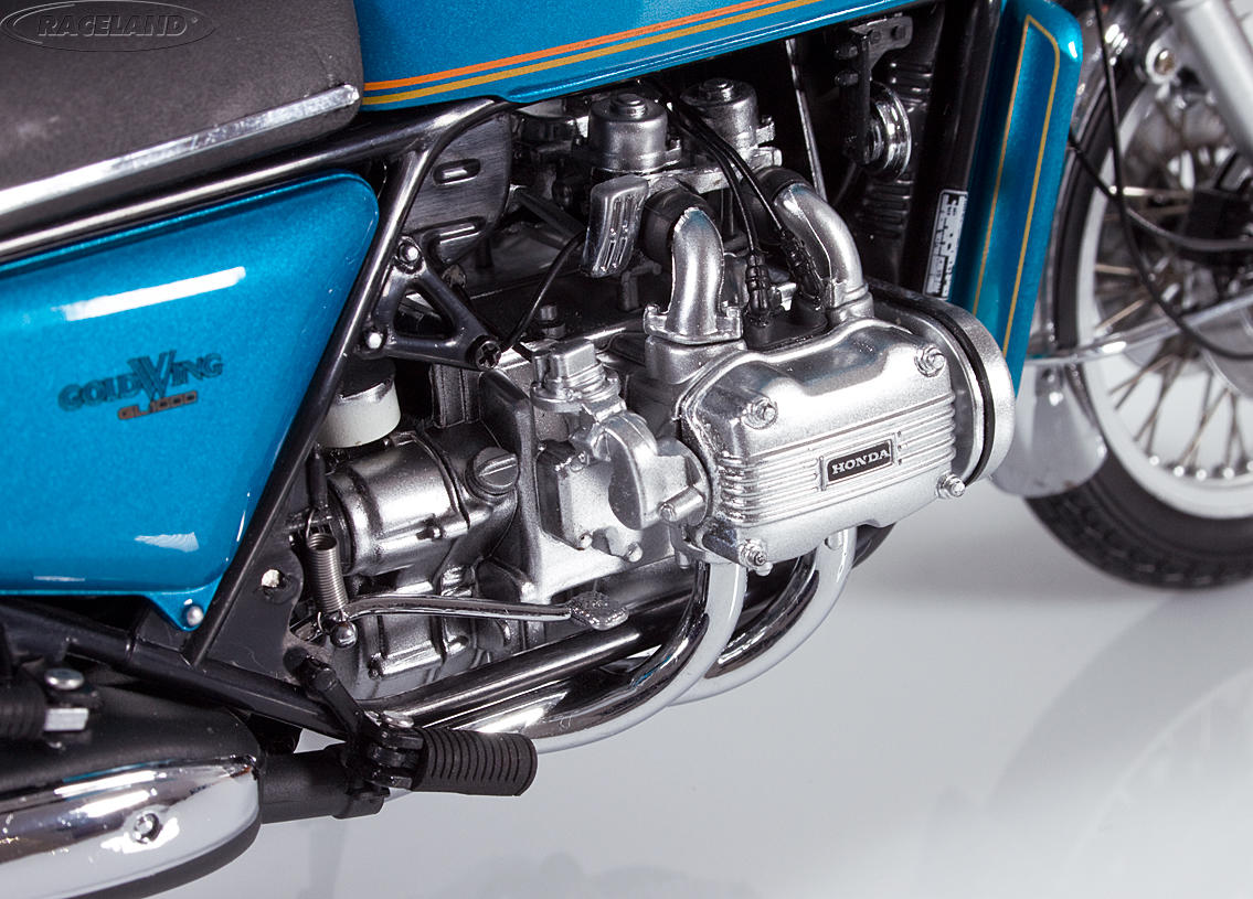 Honda Goldwing GL 1000 K0 1975 blau metallic Bild 4