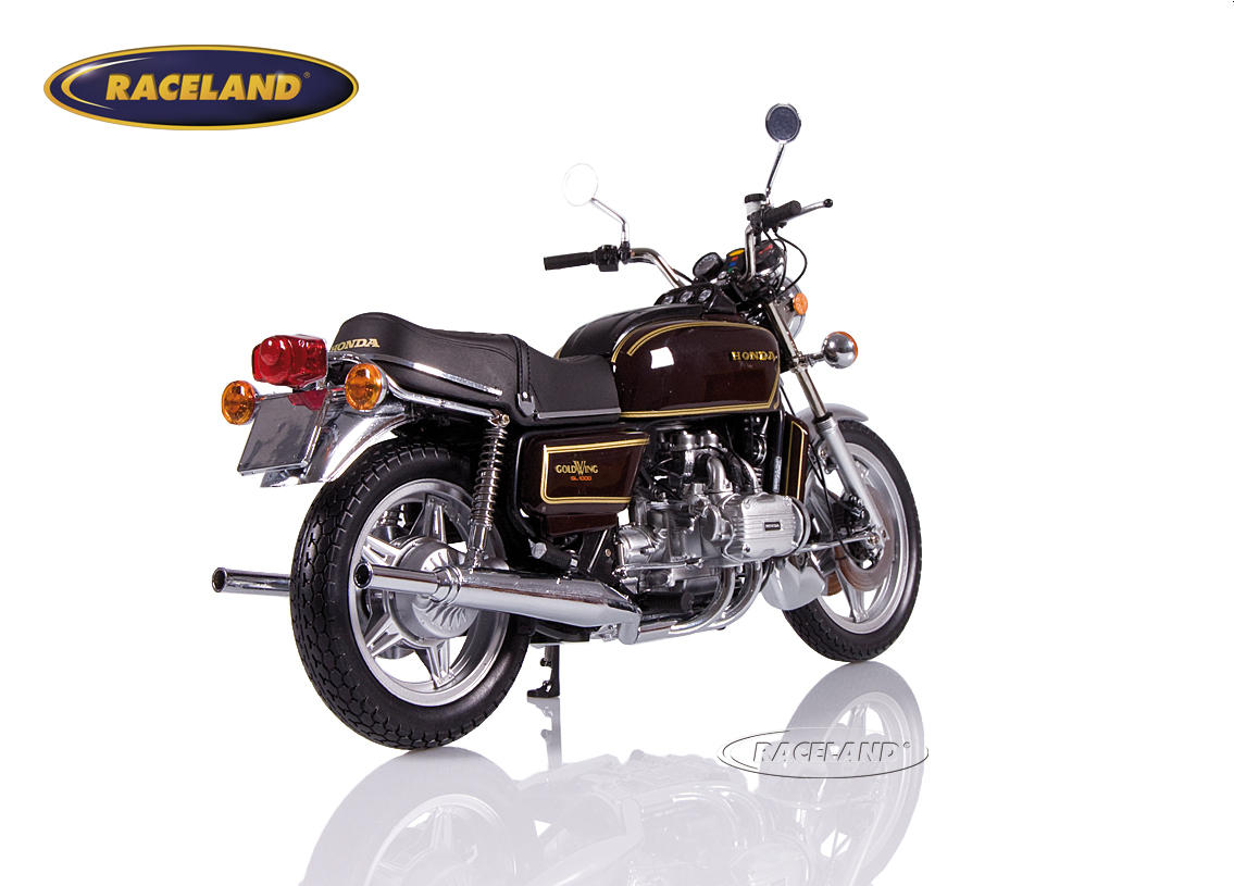 Honda Goldwing GL 1000 K3 1978 braun metallic Bild 2