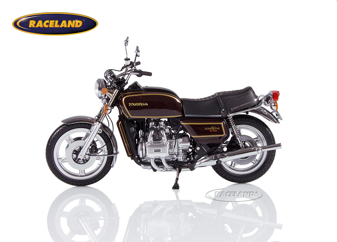 Honda Goldwing GL 1000 K3 1978 braun metallic Bild 3