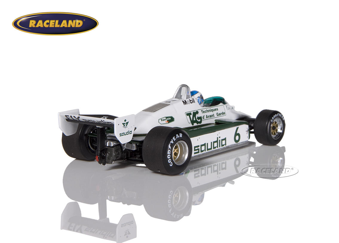 Williams-Ford FW08 Saudia TAG F1 Weltmeister 1982 Keke Rosberg Bild 2