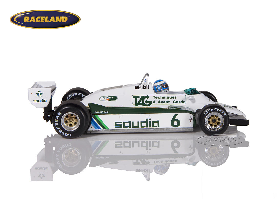 Williams-Ford FW08 Saudia TAG F1 Weltmeister 1982 Keke Rosberg Bild 3