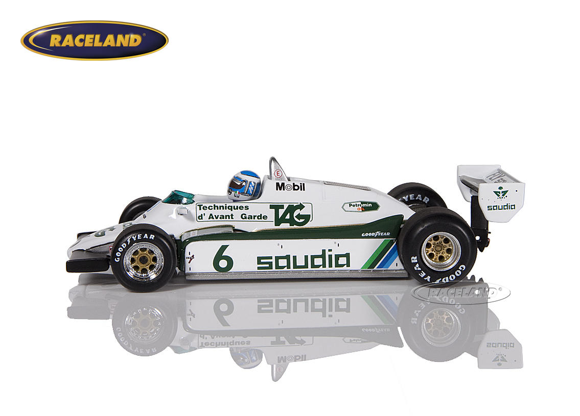 Williams-Ford FW08 Saudia TAG F1 Weltmeister 1982 Keke Rosberg Bild 4