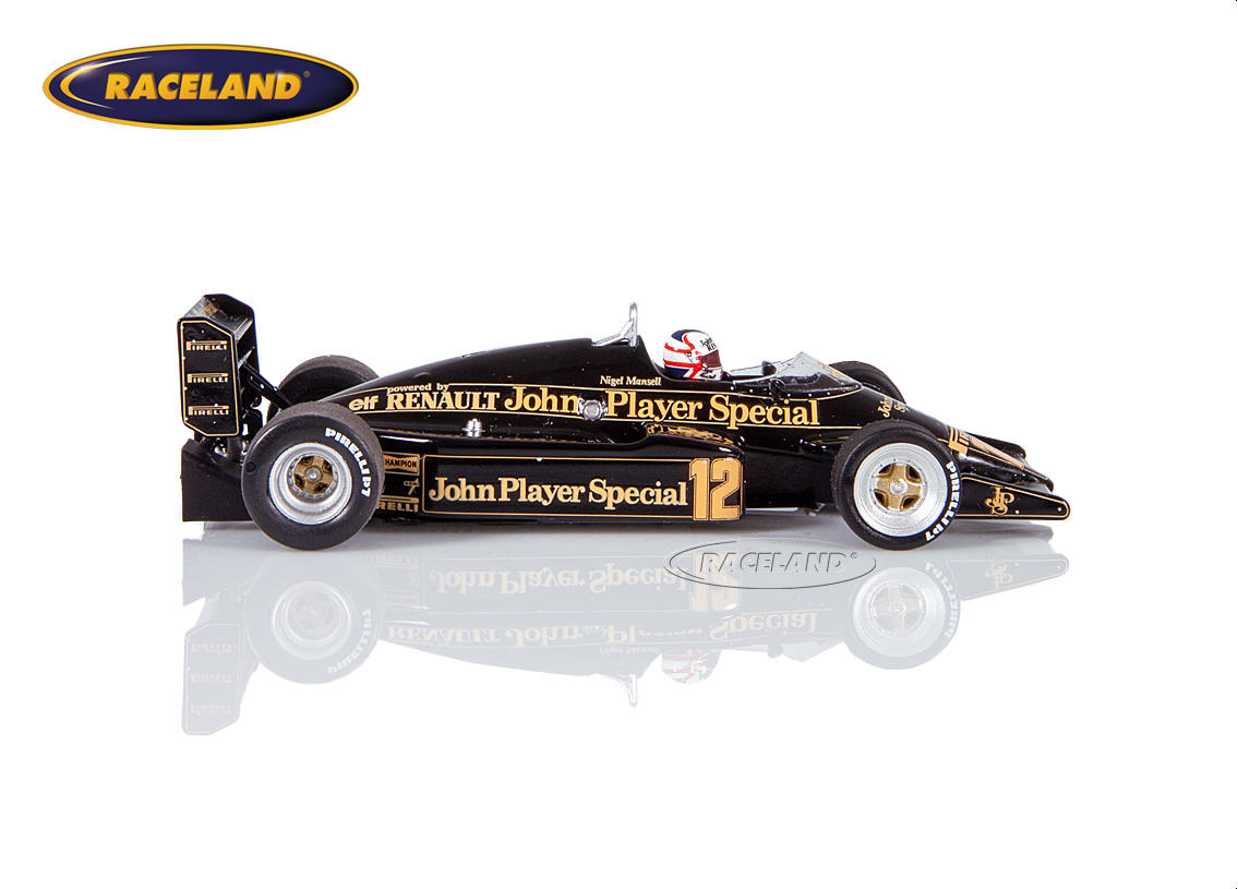 lotus 94t renault v6 turbo f1 team jps 4 gp england 1983. Black Bedroom Furniture Sets. Home Design Ideas