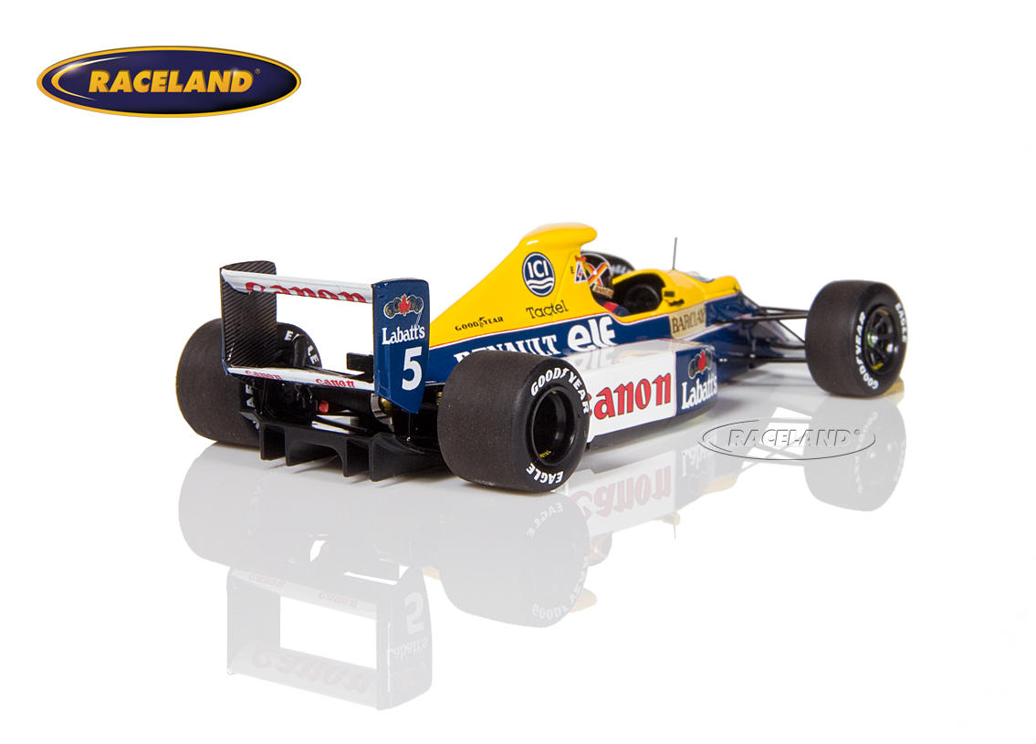 Williams-Renault FW13b F1 1990 Thierry Boutsen Bild 2