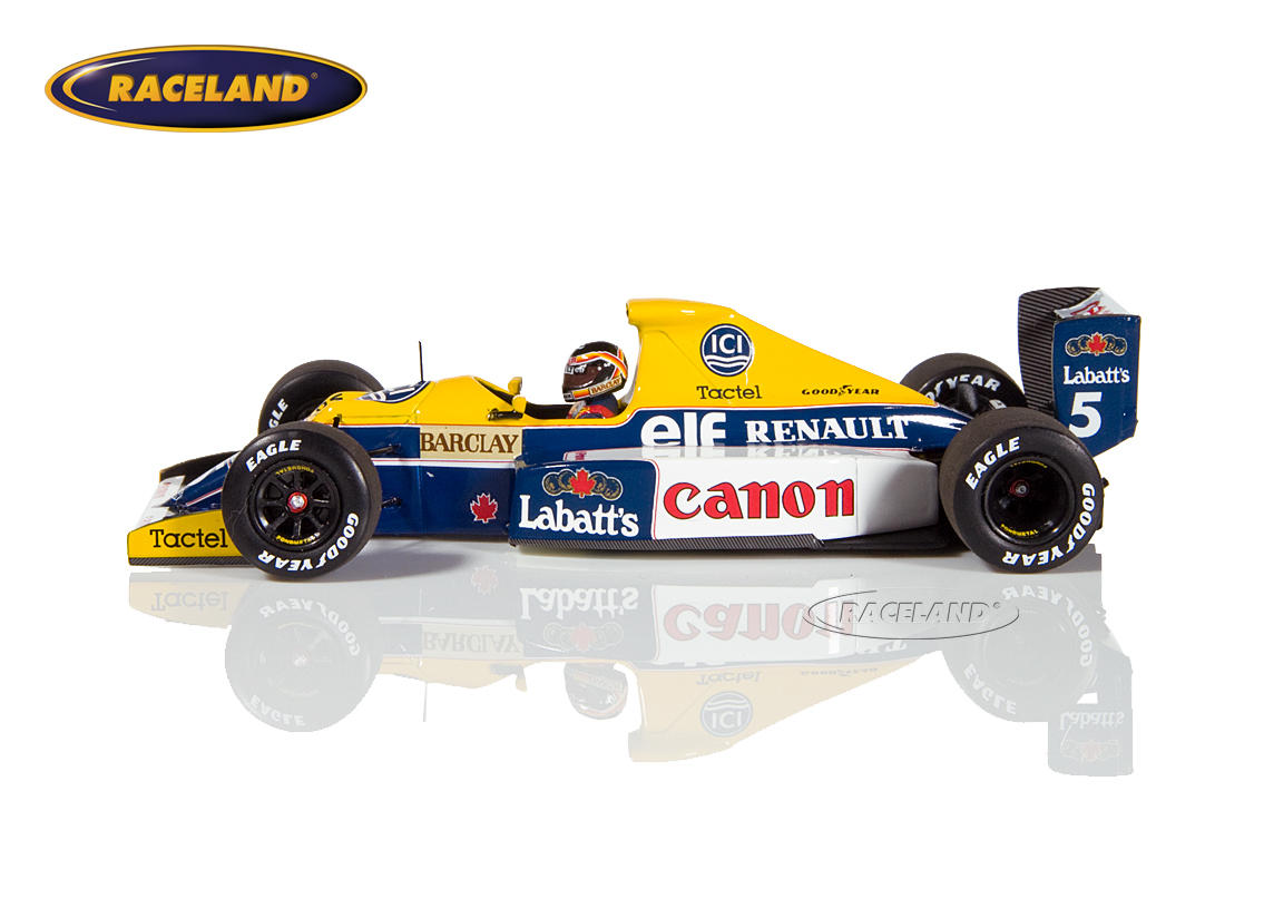 Williams-Renault FW13b F1 1990 Thierry Boutsen Bild 4