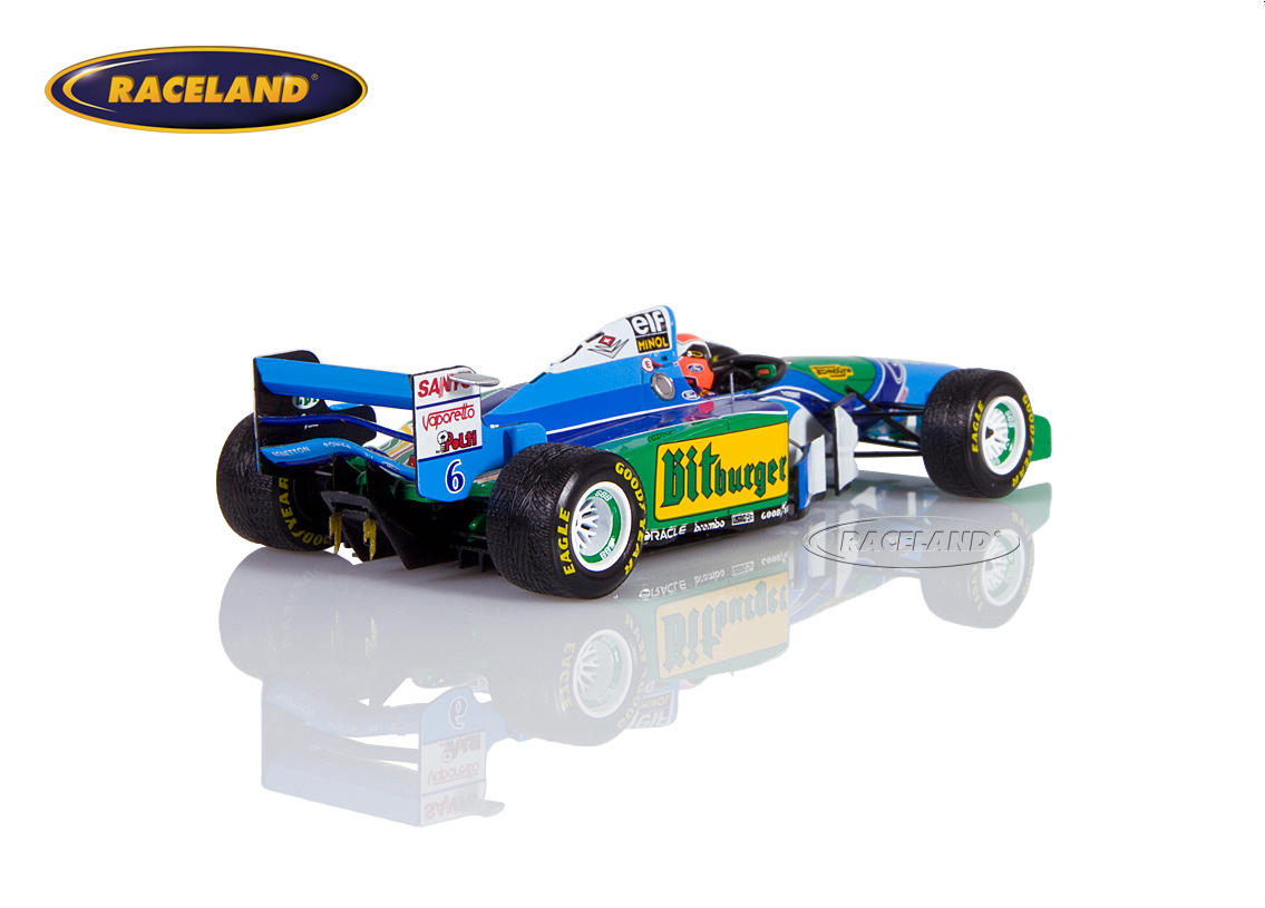 Benetton B194 Cosworth V8 F1 Mild Seven GP Japan 1994 Johnny Herbert Bild 2