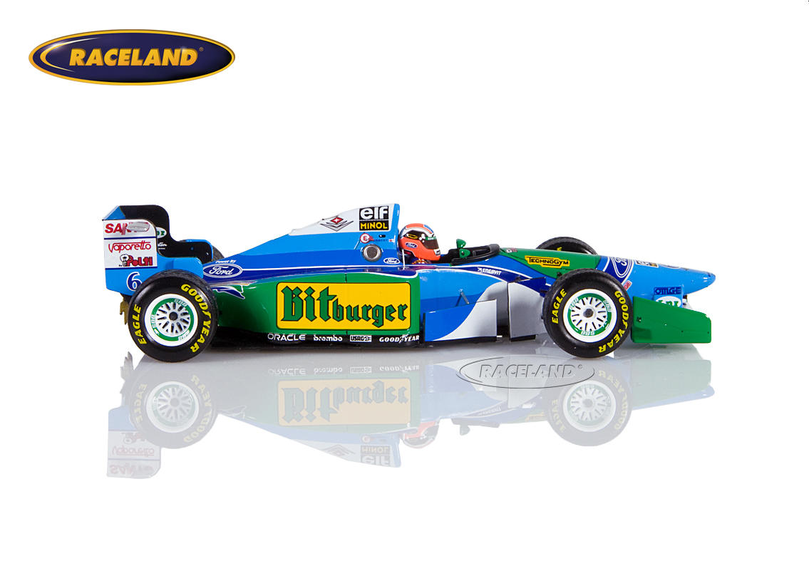 Benetton B194 Cosworth V8 F1 Mild Seven GP Japan 1994 Johnny Herbert Bild 3