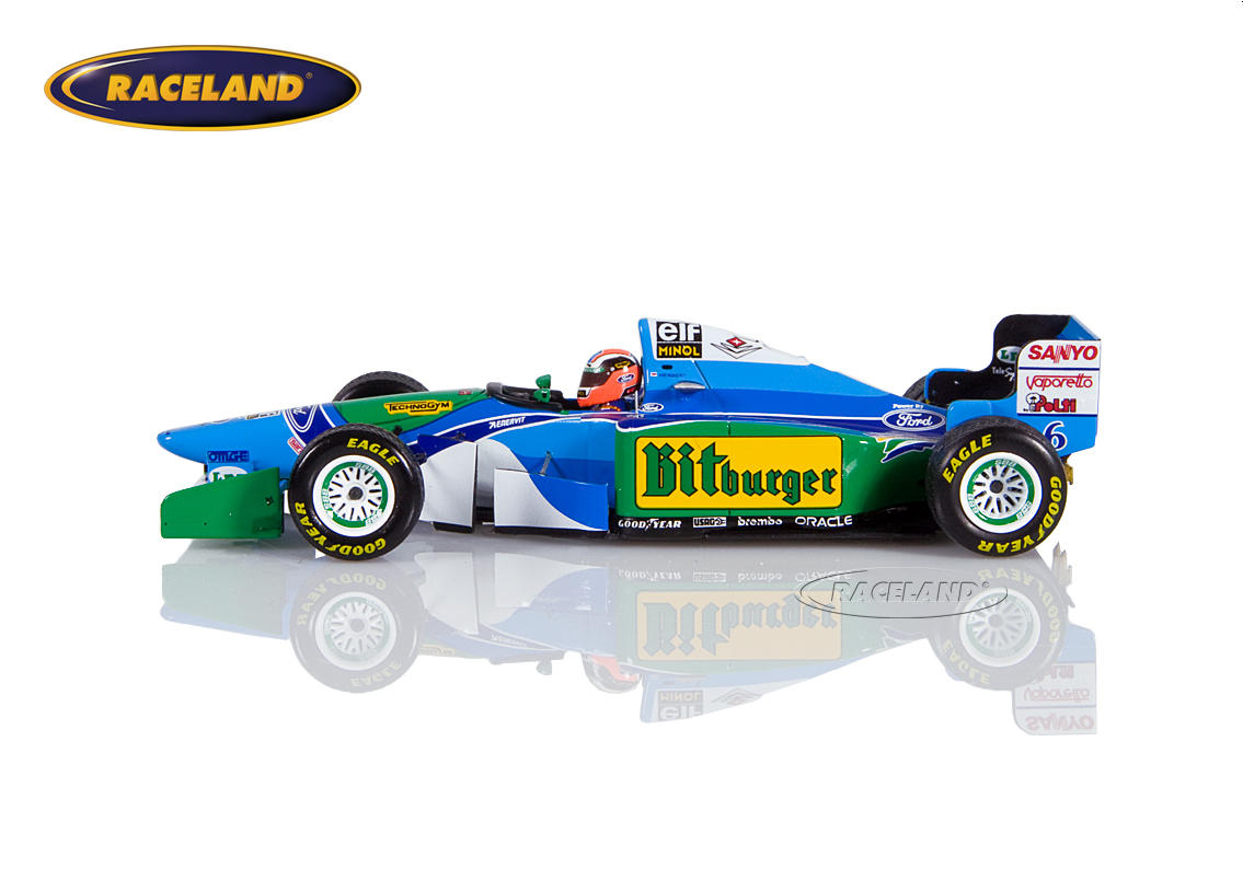 Benetton B194 Cosworth V8 F1 Mild Seven GP Japan 1994 Johnny Herbert Bild 4