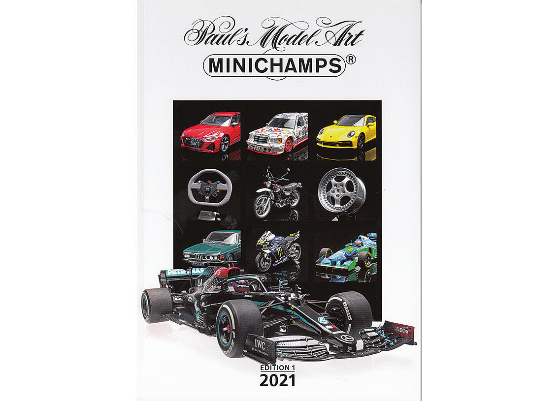 Minichamps Katalog 2021 Edition 1