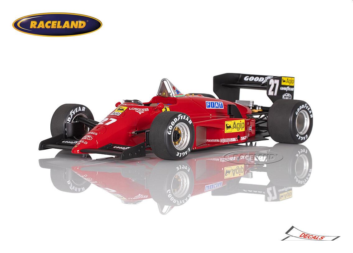 Ferrari 156/85 V6 Turbo F1 Sieger GP Kanada Montreal 1985 Michele Alboreto  - Maßstab 1:18 1985-1989 FORMEL 1 MOTORSPORT