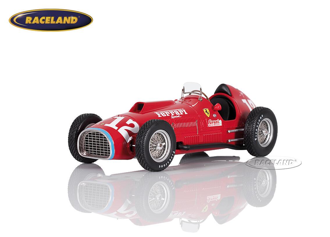 Ferrari 375 F1 Indy 500 Indianapolis 1952 Alberto Ascari Maßstab 1 18 1950 1959 Formel 1 Motorsport