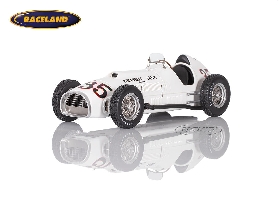 Ferrari 375 F1 Kennedy Tank Indy 500 Indianapolis 1952 Johnny Mauro Maßstab 1 18 1950 1959 Formel 1 Motorsport