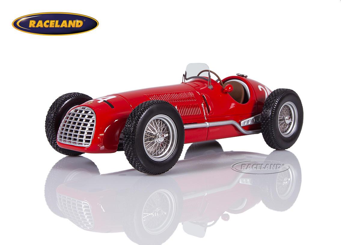 Ferrari 125 V12 F1 Scuderia Ferrari 2 Gp San Remo 1950 Luigi Villoresi Maßstab 1 18 1950 1959 Formel 1 Motorsport