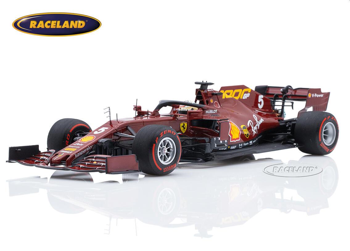Ferrari Sf1000 Scuderia Ferrari F1 1000 Ferrari Gp 10 Gp Toskana 2020 Sebastian Vettel Maßstab 1 18 2020 Formel 1 Motorsport