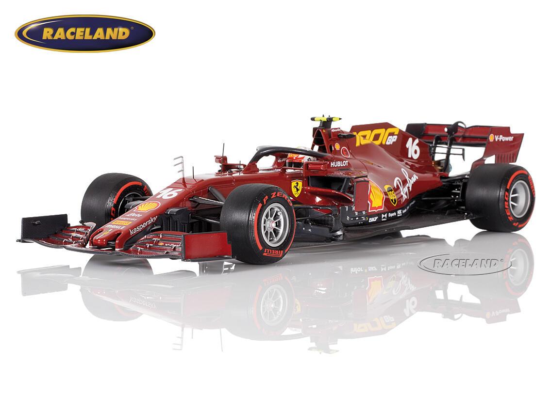 Ferrari Sf1000 Scuderia Ferrari F1 1000 Ferrari Gp 8 Gp Toskana 2020 Charles Leclerc Maßstab 1 18 2020 Formel 1 Motorsport