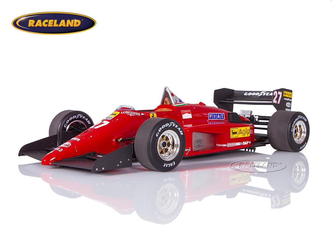 Ferrari 156/85 V6 Turbo F1 Scuderia Ferrari 1985 Michele Alboreto - Maßstab  1:18 1985-1989 FORMEL 1 MOTORSPORT