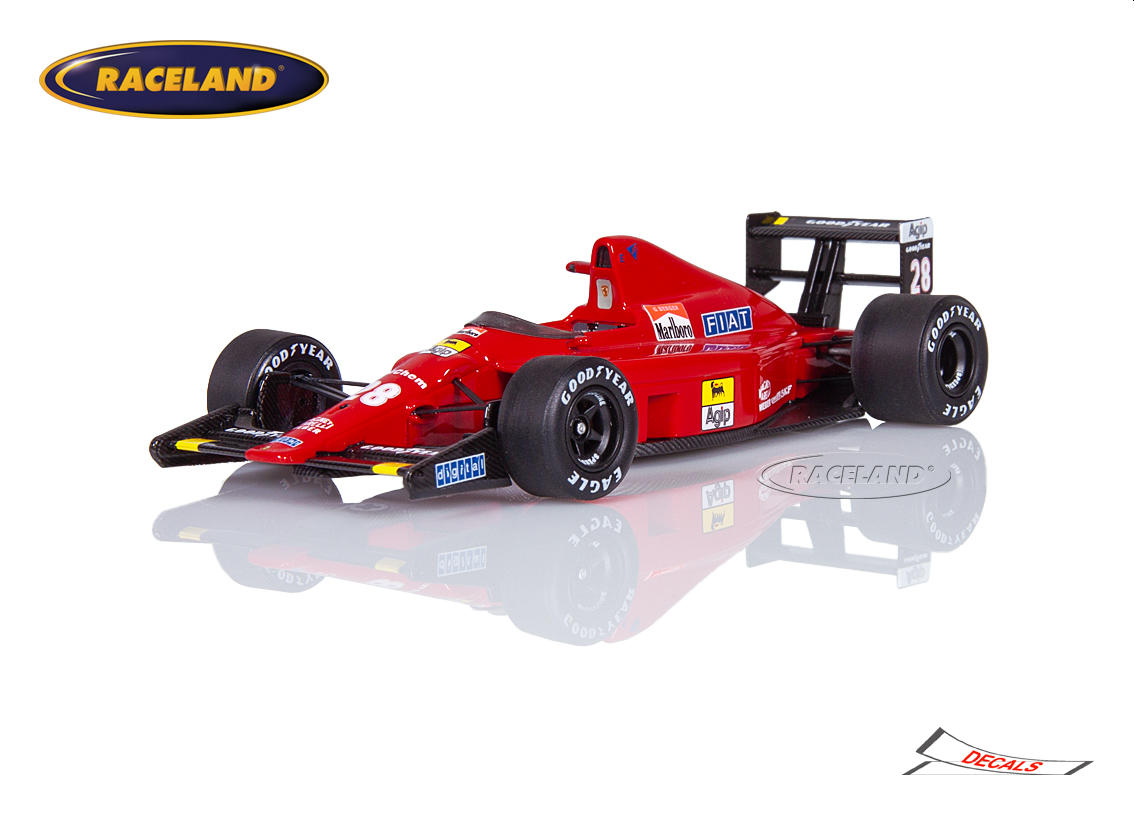 Ferrari 640 F1 Scuderia Ferrari 1989 Gerhard Berger Maßstab 1 43 1985 1989 Formel 1 Motorsport