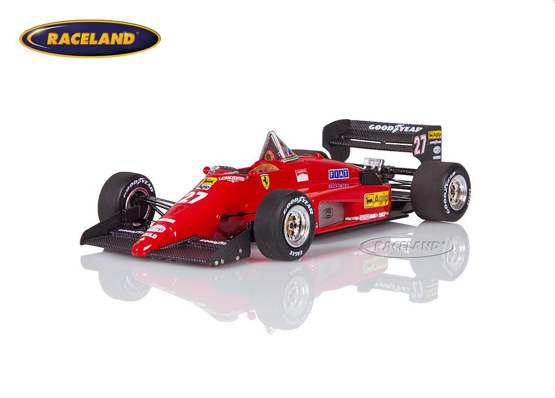 Ferrari 156/85 F1 Scuderia Ferrari 1985 Michele Alboreto - Maßstab 1:43 1985-1989  FORMEL 1 MOTORSPORT