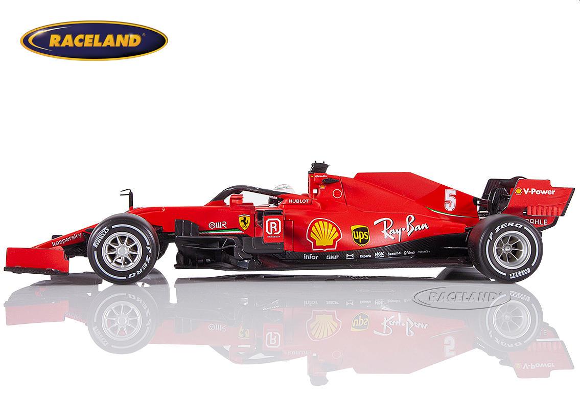 Ferrari Sf1000 Scuderia Ferrari F1 2020 Sebastian Vettel Maßstab 1 18 2020 Formel 1 Motorsport