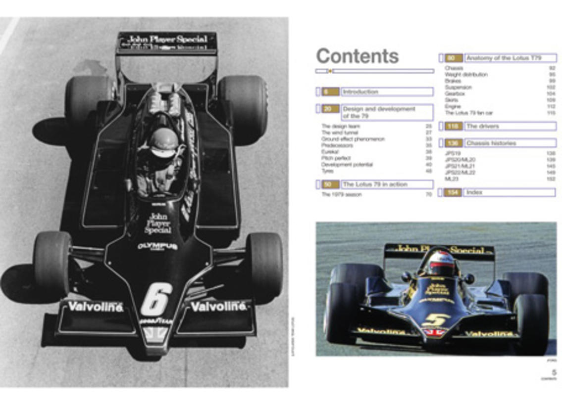 Lotus 79 F1 Owner's Workshop Manual ab 1977 Bild 2