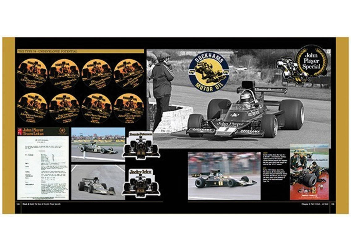 Black & Gold: the Story of the John Player Specials Bild 4