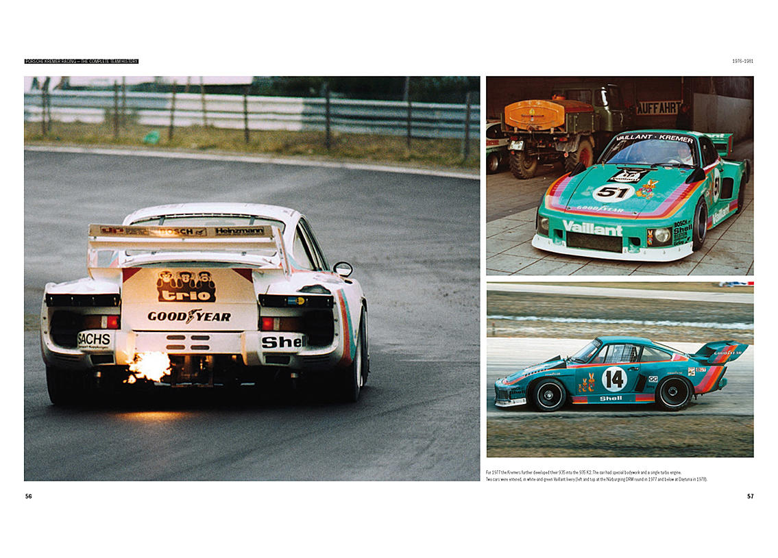 Porsche Kremer Racing The complete team history Bild 4