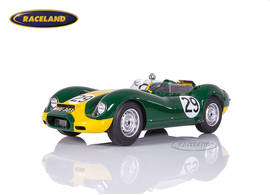 Lister Jaguar Lister Engineering Sieger GP Silverstone 1958 Stirling Moss