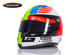 Helm Schuberth Mick Schumacher Formel 3 Spa 2017 Half Mick Half Michael Design