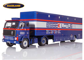 Volvo F89 ESSEX Lotus F1 Team Renntransporter 1980