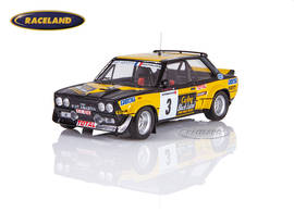 Fiat 131 Abarth Fiat France Carling Black Label 4° Rallye Boucles de Spa 1980 Mouton/Arrii